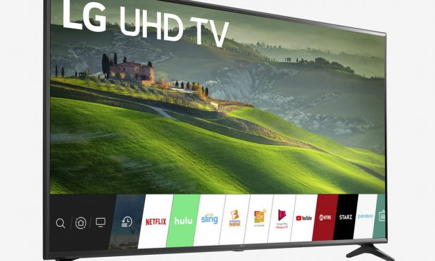 This 65-inch LG 4K ultra HD smart TV is down to only $580 on Walmart today