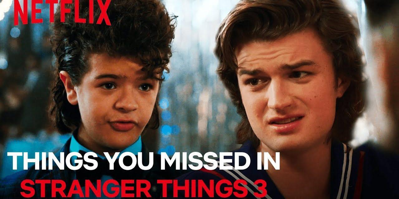 Things You Missed In Stranger Things Season 3 | Netflix