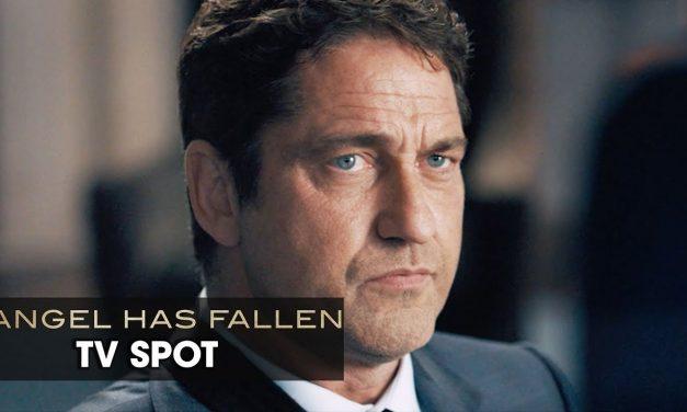 "Angel Has Fallen (2019 Movie) Official TV Spot ""SIDE"" — Gerard Butler, Morgan Freeman"