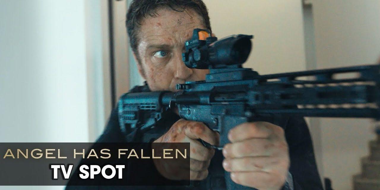 "Angel Has Fallen (2019 Movie) Official TV Spot ""WANTED"" — Gerard Butler, Morgan Freeman"