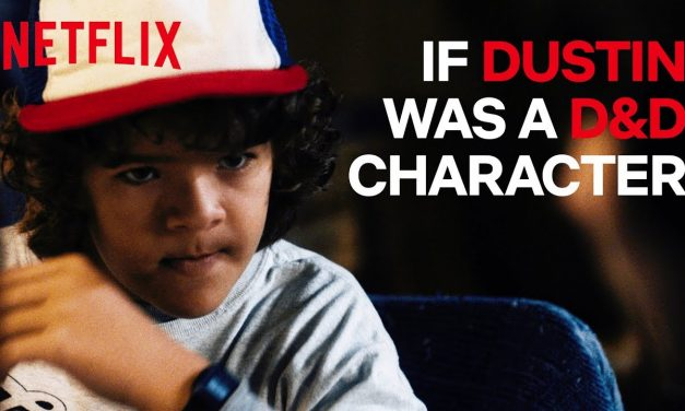 If Dustin Was A D&D Character | Stranger Things