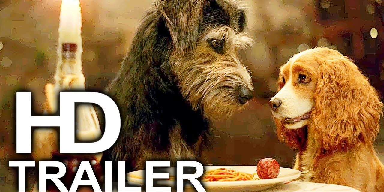 LADY AND THE TRAMP Trailer #1 NEW (2019) Disney Live Action Movie HD