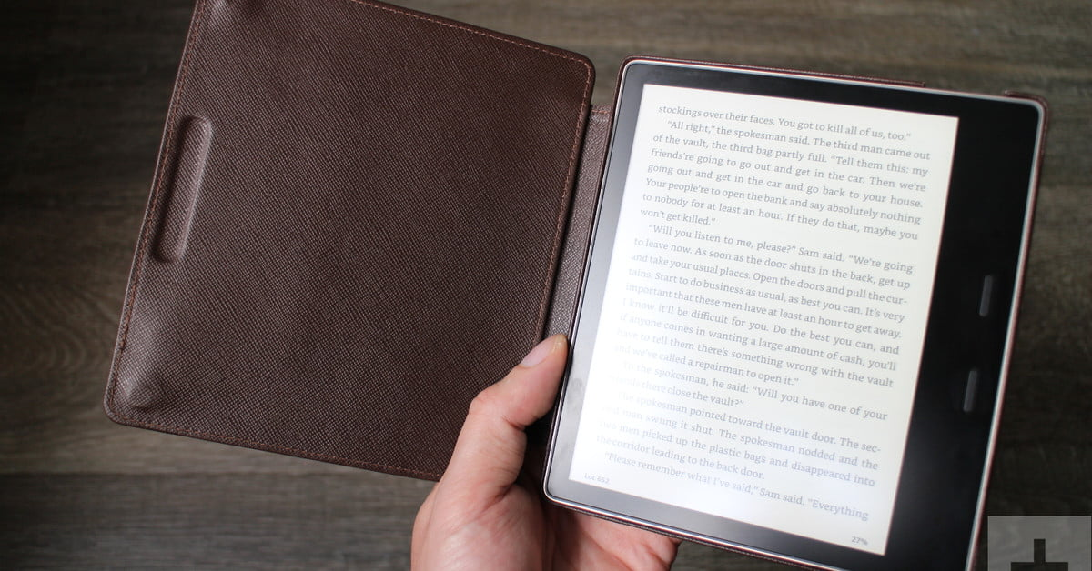 Safeguard your stylish ebook reader with the best Kindle Oasis cases