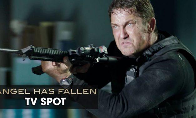 """Angel Has Fallen (2019 Movie) Official TV Spot """"BLOCKBUSTER"""" — Gerard Butler, Morgan Freeman"""