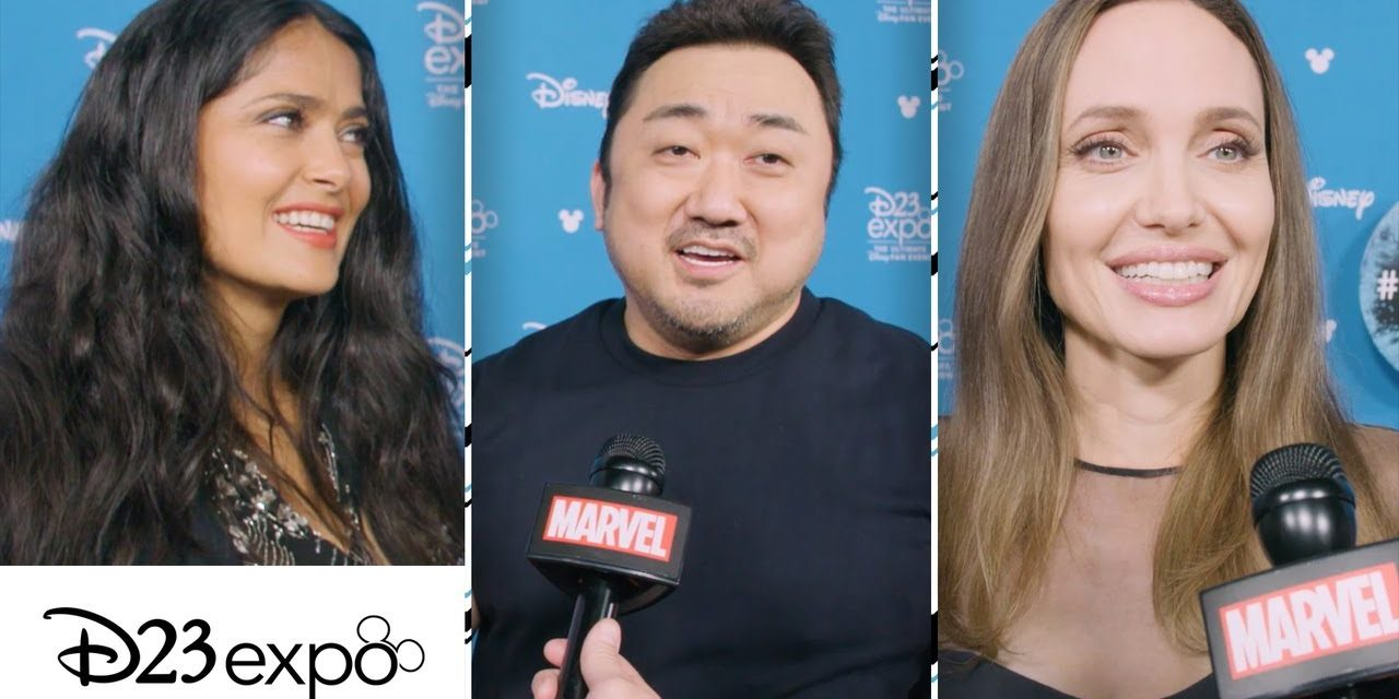 Meet the cast of Marvel Studios' The Eternals at D23 Expo!