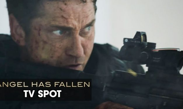"Angel Has Fallen (2019 Movie) Official TV Spot ""AUDIENCE"" — Gerard Butler, Morgan Freeman"