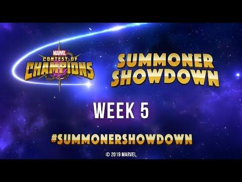 Marvel Contest of Champions: Summoner Showdown   Week 5