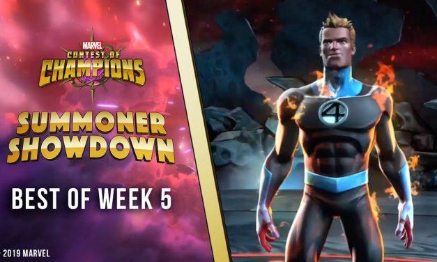 Marvel Contest of Champions: Summoner Showdown   Best of Week 5!