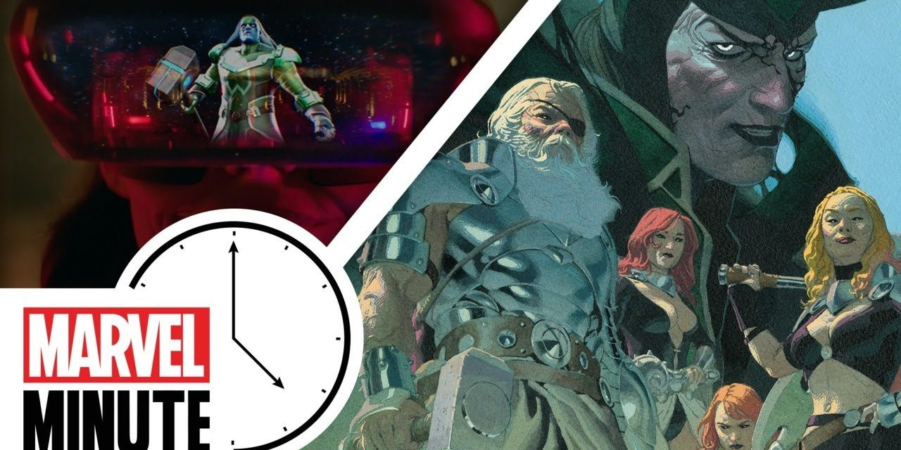 KING THOR #1, Marvel Comes to Augmented Reality, and More!   Marvel Minute