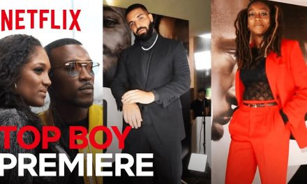 On The Red Carpet At The Top Boy World Premiere | Netflix