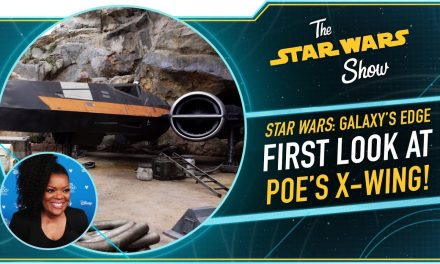 Exclusive Look at Poe's X-wing from Star Wars: Rise of the Resistance
