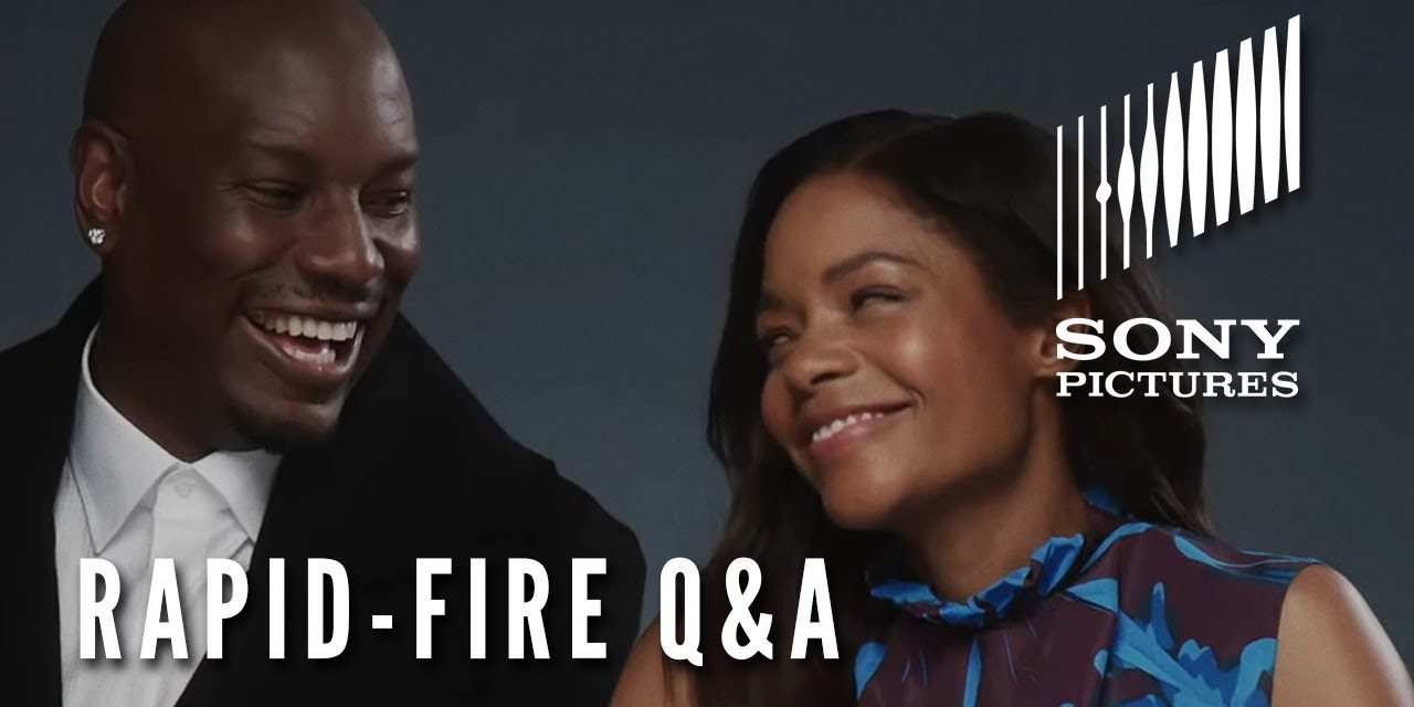 BLACK AND BLUE – Rapid-Fire Q&A (Naomie Harris & Tyrese)