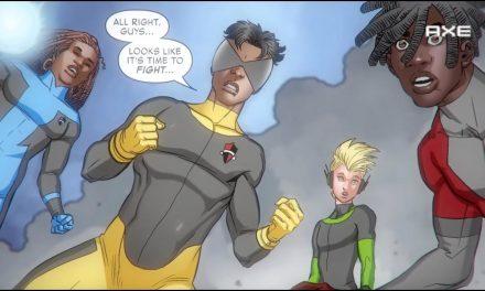 Marvel & Axe present The Fresh-Men: Chapter 4
