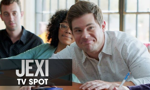"""Jexi (2019 Movie) Official TV Spot """"HERE TO HELP WORK"""" — Adam Devine, Rose Byrne"""