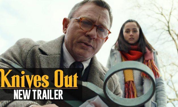 Knives Out (2019) New Trailer – Daniel Craig, Chris Evans, Ana de Armas