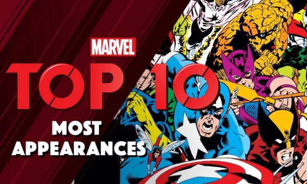 Top 10 Marvel Super Hero Appearances !
