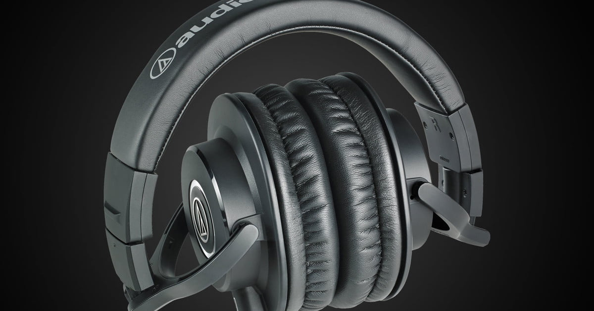 The bassy, high value Audio-Technica ATH-M40X are now even cheaper