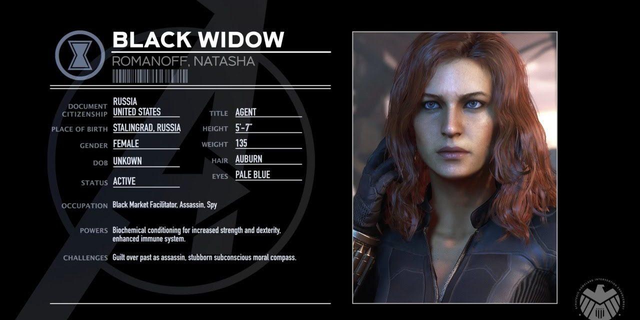 Marvel's Avengers   Black Widow Character Spotlight
