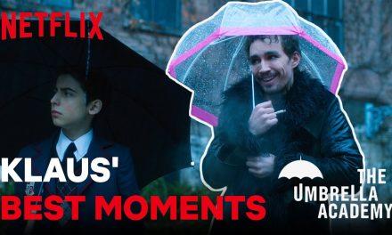 Klaus'  Best Moments | Umbrella Academy
