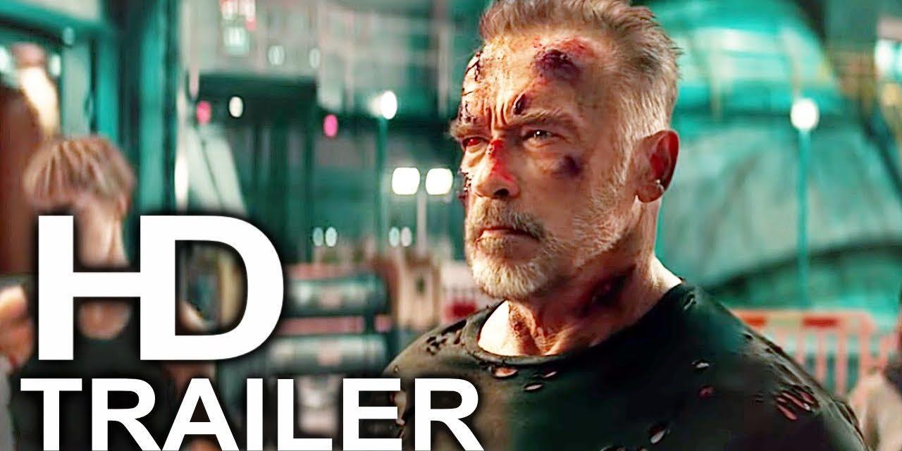 TERMINATOR 6 DARK FATE Final Trailer #4 NEW (2019) Arnold Schwarzenegger Action Movie HD