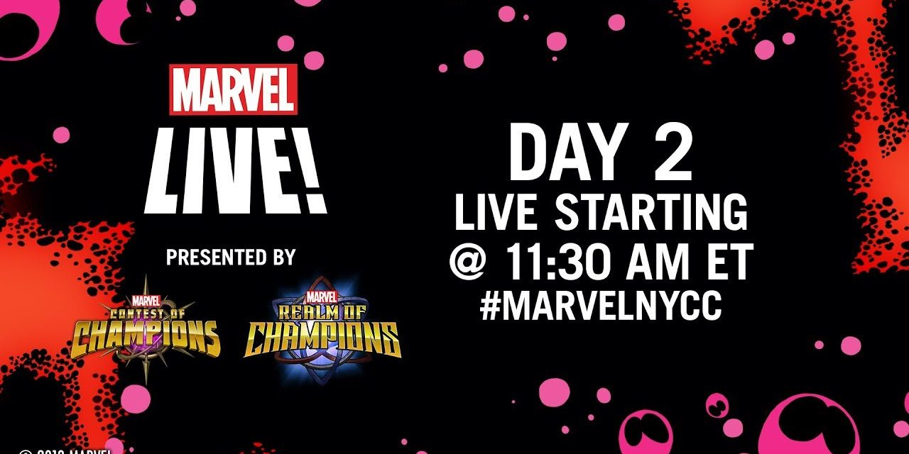 Marvel LIVE from NYCC 2019! | Day 2