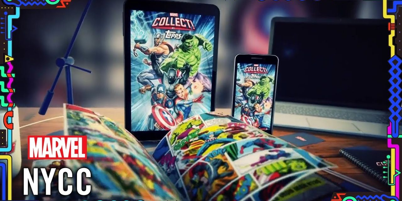 Marvel Collect by Topps Introduces NYCC Exclusive Digital Packs!