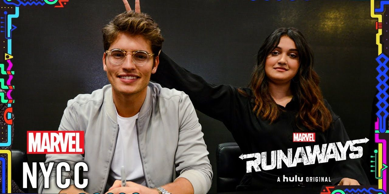 Marvel's Runaways Cast Q&A LIVE from NYCC 2019!