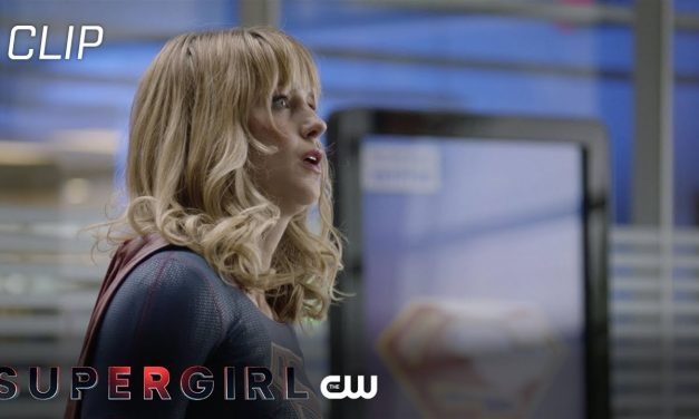 Supergirl fights a Dinosaur | The CW