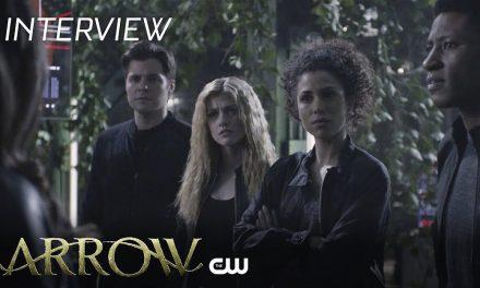Arrow | Ben Lewis And Katherine McNamara | The CW