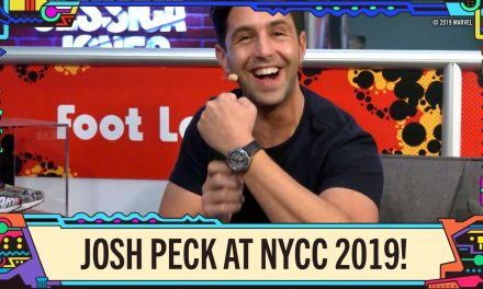 Hanging Out with Citizen Ambassador, Josh Peck, at New York Comic Con 2019!