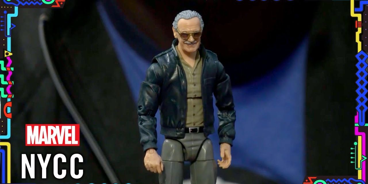 Hasbro unveils a Stan Lee Action Figure! | Marvel LIVE @ NYCC 2019!