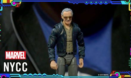 Hasbro unveils a Stan Lee Action Figure!   Marvel LIVE @ NYCC 2019!