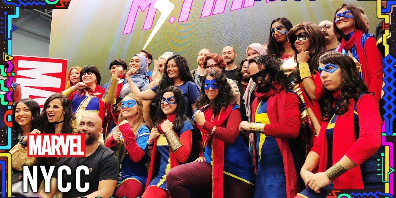 Kamala Khan Celebration at NYCC 2019! (featuring Marvel's Avengers)