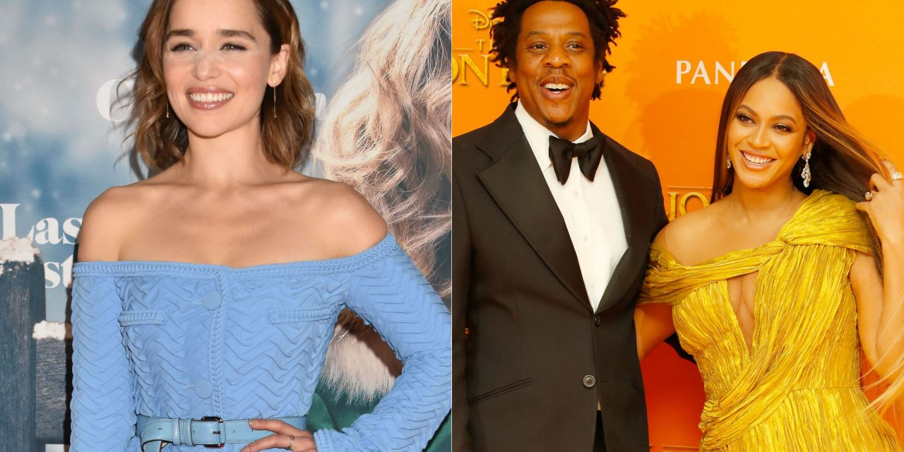 'Game of Thrones' star Emilia Clarke reveals that she cried when she first met Beyoncé and Jay-Z
