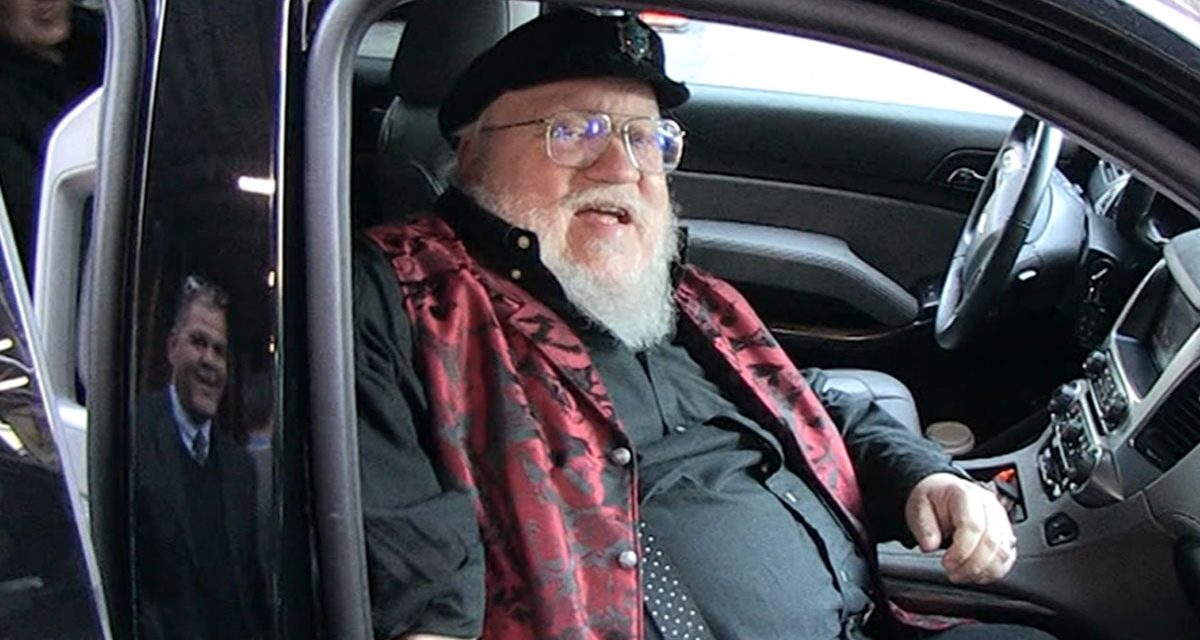 George R.R. Martin, 'I'll Finish 'GOT' Books Before Jets, Giants Win Super Bowl!'