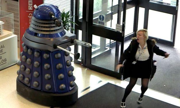 EXTERMINATE Halloween Prank 🎃 | Doctor Who