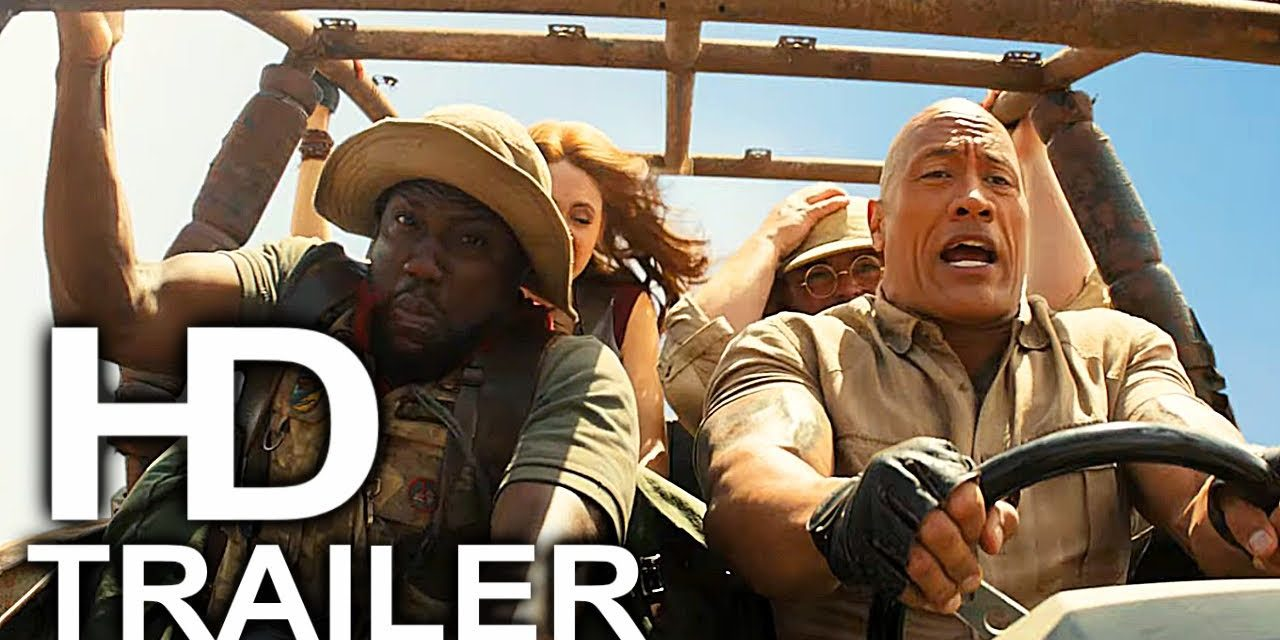 JUMANJI 3 Trailer #2 NEW (2019) Dwayne Johnson, Jack Black Comedy Movie HD