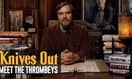 Knives Out (2019 Movie) Meet the Thrombeys: Blood Like Wine Publishing – Michael Shannon