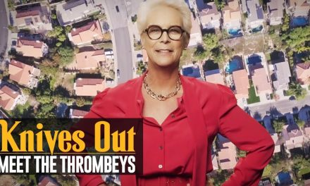 Knives Out (2019 Movie) Meet the Thrombeys: Thrombey Real Estate – Jamie Lee Curtis
