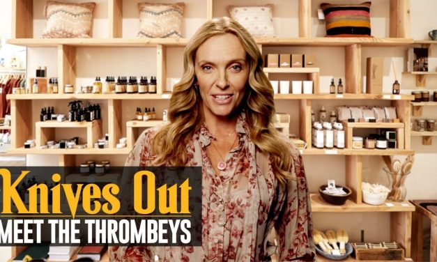 Knives Out (2019 Movie) Meet the Thrombeys: Flam – Toni Collette