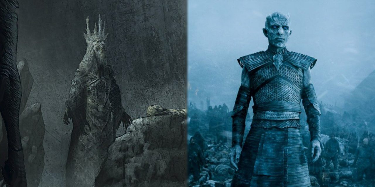 Game of Thrones' Night King Had Different Look In Original Concept Art