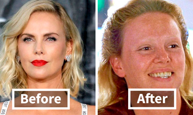 30 Before And After Shots That Show How Much Effort Is Put Into Hollywood SFX Makeup