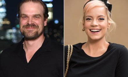 Stranger Things Star David Harbour Says Girlfriend Lily Allen Has a 'Stunningly Beautiful Butt'