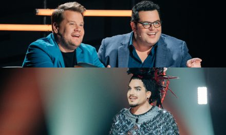 James Corden & Josh Gad Play The Worst 'Masked Singer' Judges Ever with Adam Lambert – Watch!