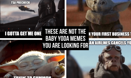 These are not the Baby Yoda Memes you are looking for (about travel)