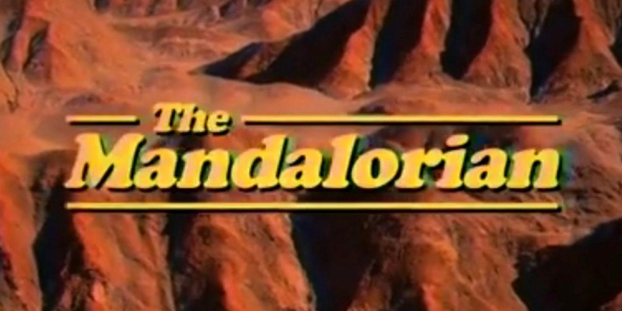 The Mandalorian 1980's Sitcom TV Intro Is Delightful