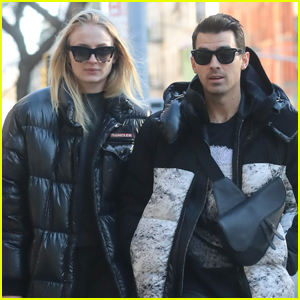 Joe Jonas & Sophie Turner Bundle Up for Afternoon Stroll in NYC