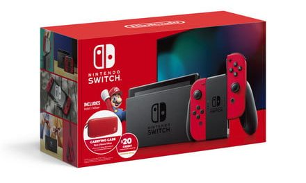 The best Nintendo Switch deal today includes a $20 credit and carrying case
