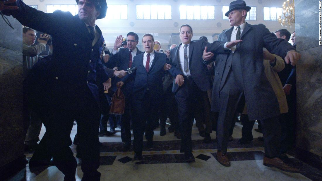 National Board of Review names 'The Irishman' best film of 2019