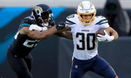 Austin Ekeler records this season's first rushing-receiving double-triple